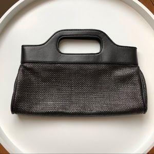 Sleek Black Clutch Purse